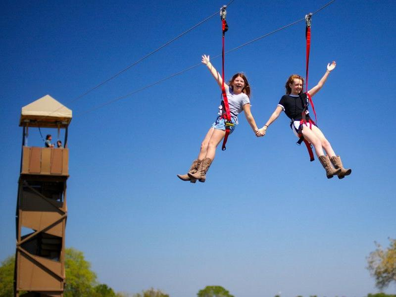 Theme park unveils new outdoor adventure zone for family fun!