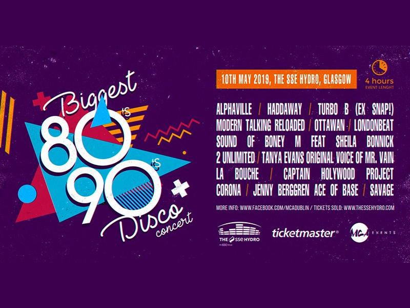 Biggest 80s & 90s Disco