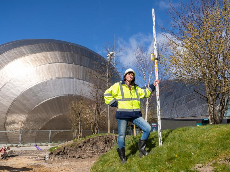 Glasgow Science Centre transforms outdoor space