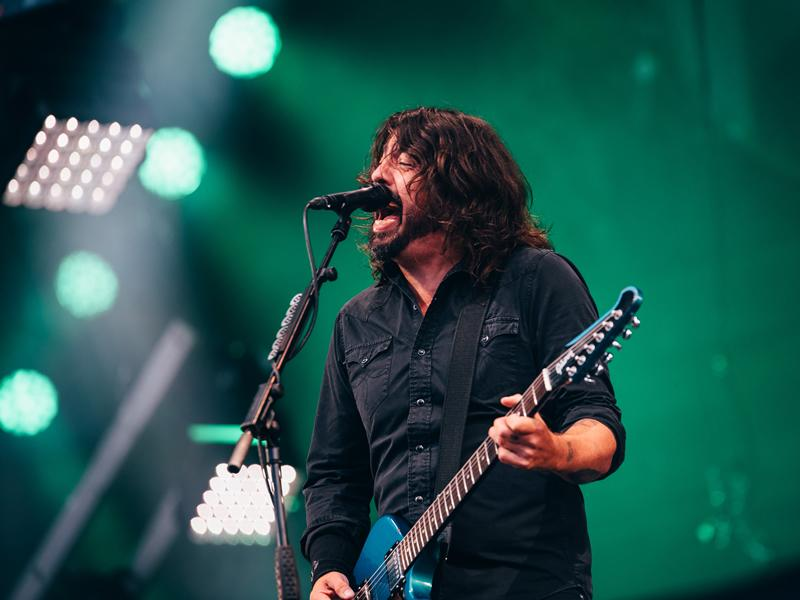 Second sold out Summer Sessions features rock gods Foo Fighters