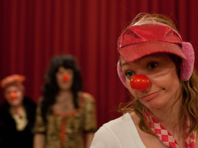 Holly Stoppit's Introduction to Clowning Weekend