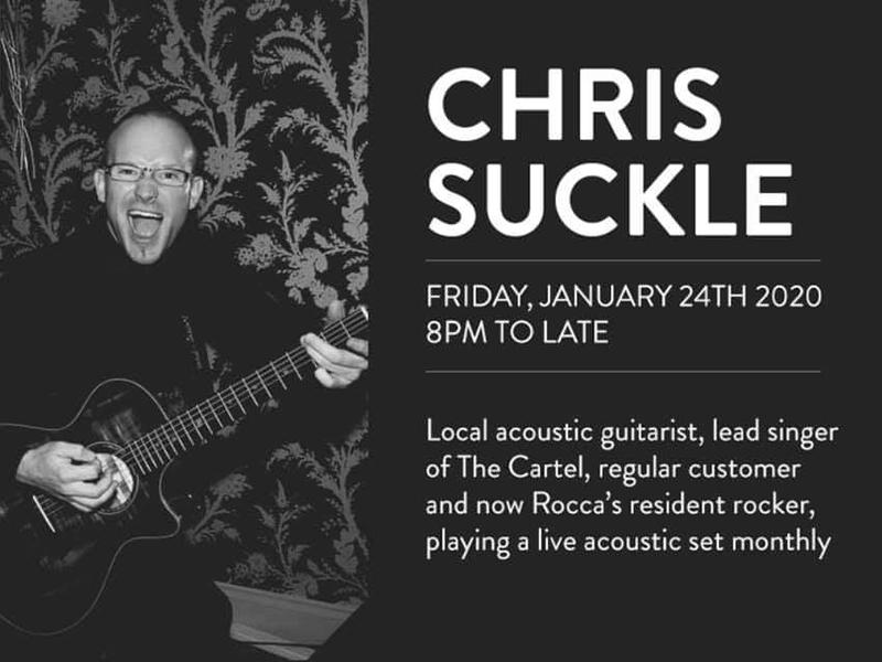 Live Music Fridays with Chris Suckle