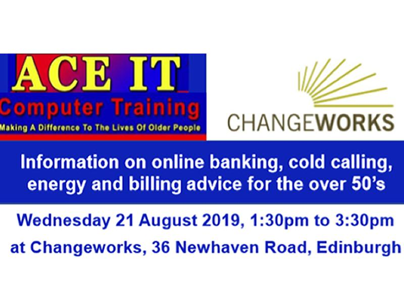 Computer Training and Energy Advice for the over 50's.