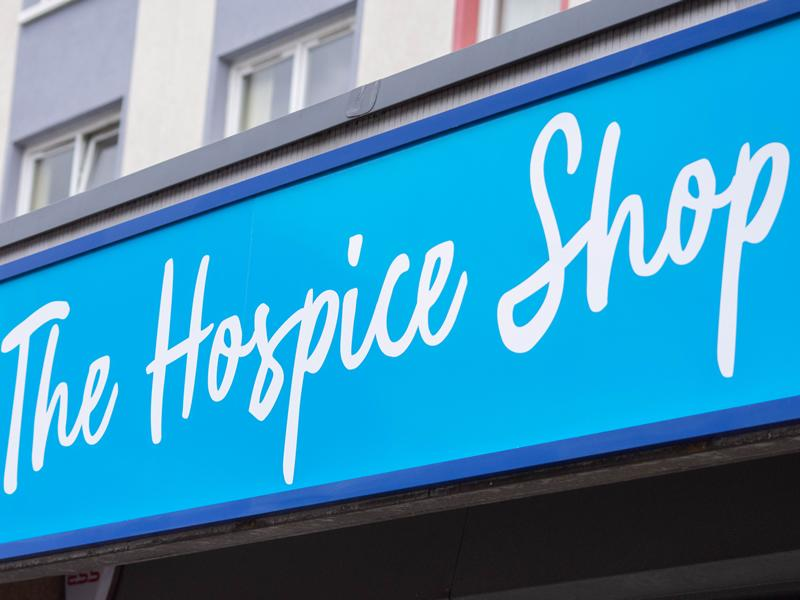 The Prince & Princess of Wales Hospice return on the high street