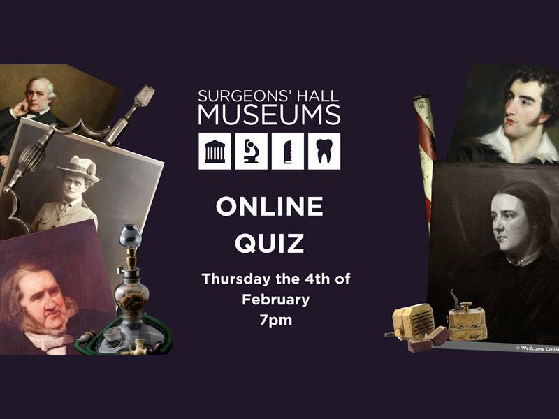 Surgeons Hall Museums Online Quiz