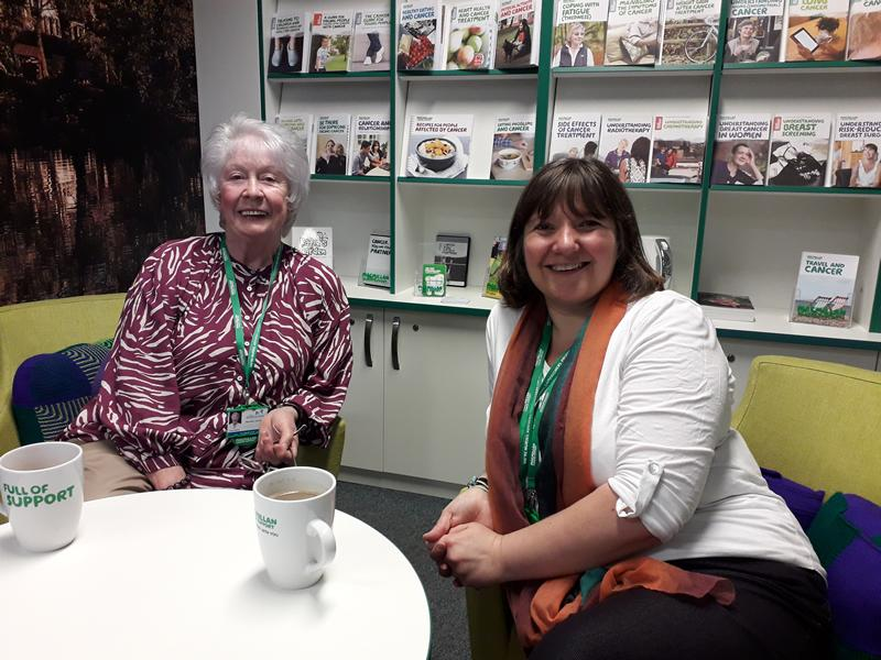 Macmillan Cancer Information and Support Drop-in