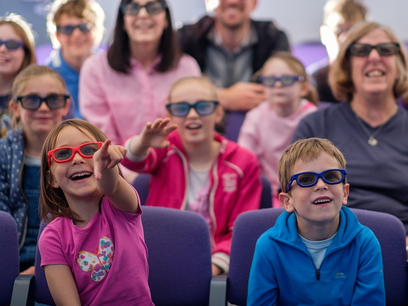 NEW! 3D wildlife film experience at the Scottish Seabird Centre