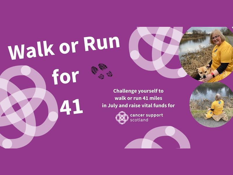 Walk Or Run For 41