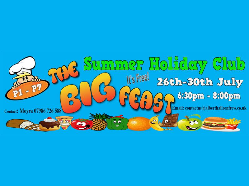 FREE Holiday Bible Club - The Big Feast