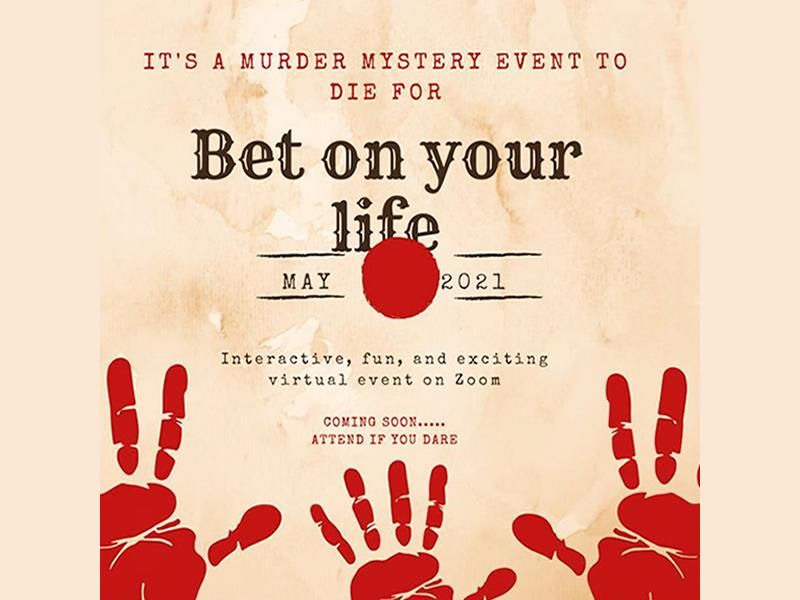 Bet on Your Life - Online Murder Mystery Event