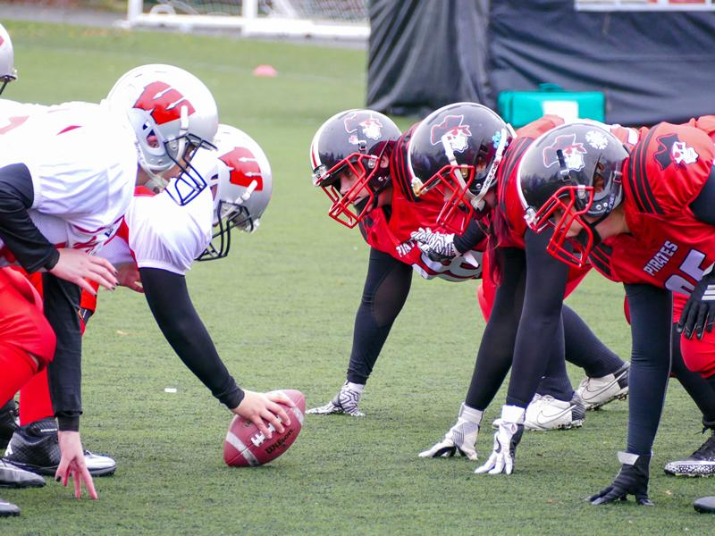 Women's Contact American Football with the East Kilbride Pirates Taster Session