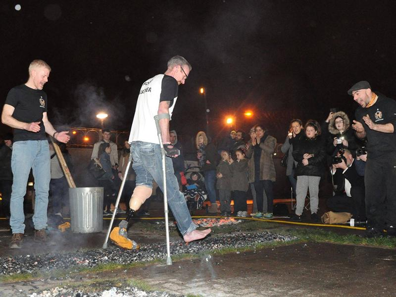 The Finding Your Feet Firewalk!