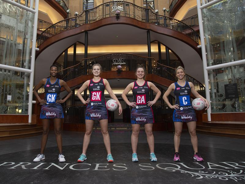 Princes Square announces partnership with Strathclyde Sirens
