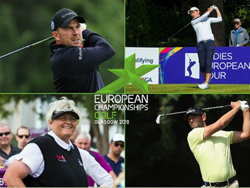 Teams unveiled for European Golf Team Championships