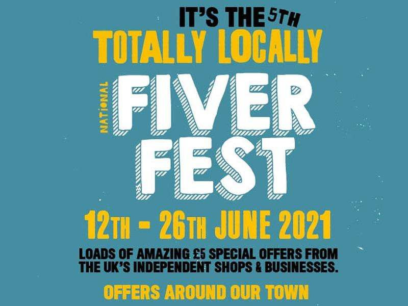 Grab yourself a deal in Paisley town centre with FiverFest!