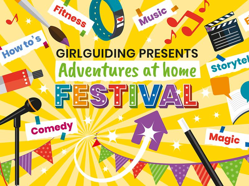 Girlguiding Presents: Adventures At Home Festival