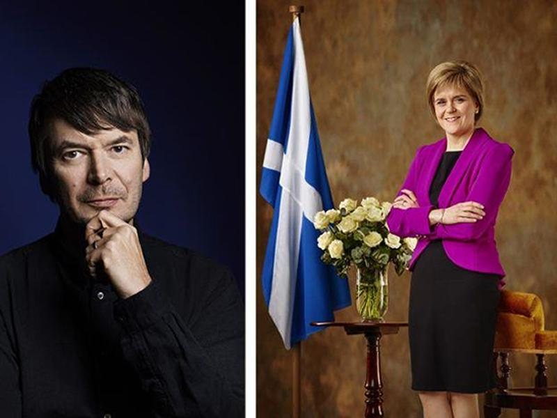 Bloody Scotland: Ian Rankin interviewed by First Minister, Nicola Sturgeon.