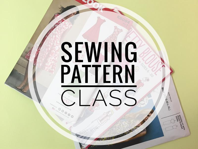 2 Day Sewing Pattern Class