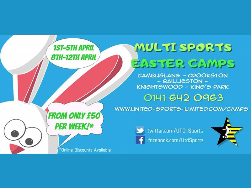UTD Sports Easter Multi Sport Camps
