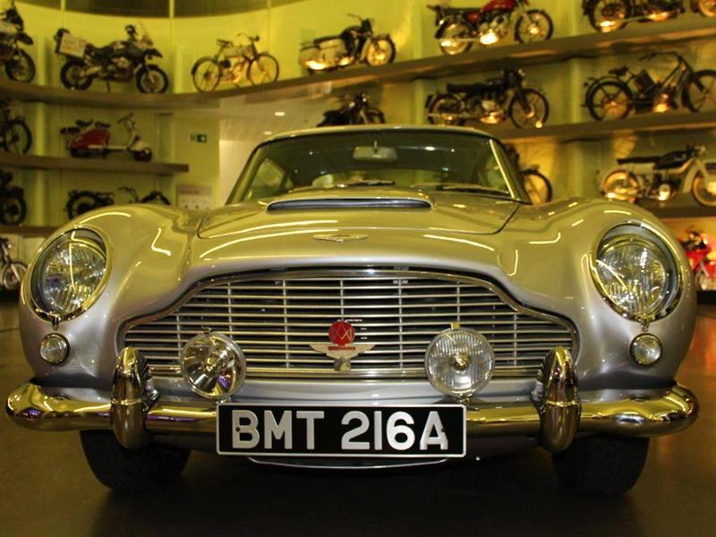 James Bond Aston Martin DB5 on display at Riverside