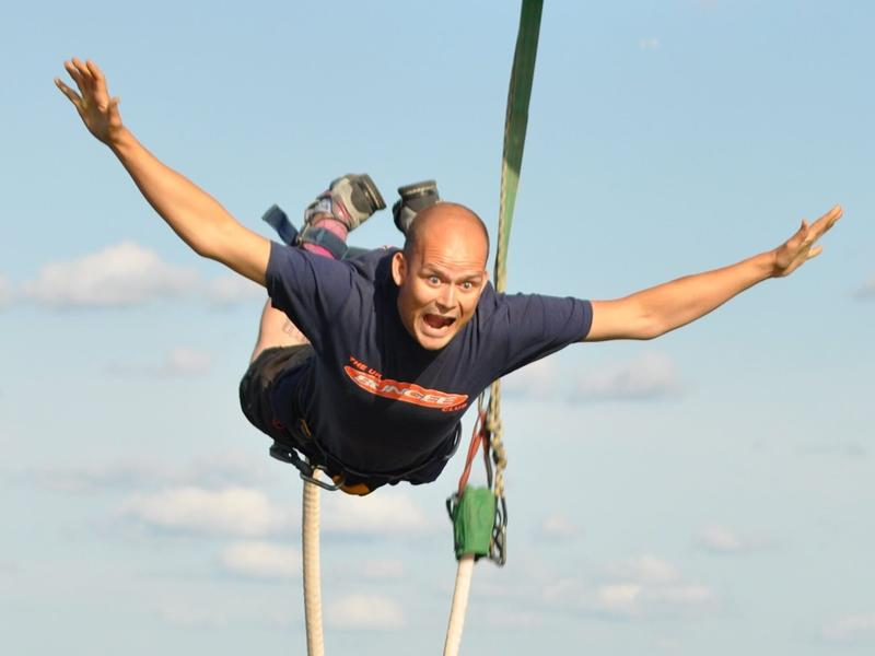 St Andrew's Hospice Bungee Jump