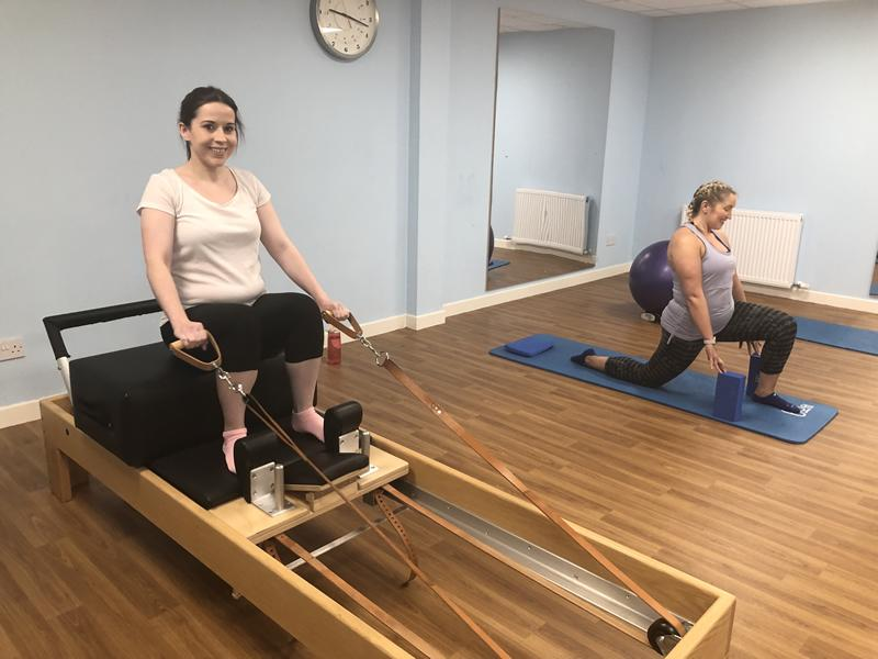 Physio Effect Antenatal Clinical Pilates Class