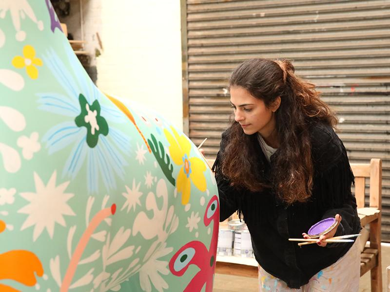 Tall ask as artists wanted to transform Edinburgh with Giraffe About Town