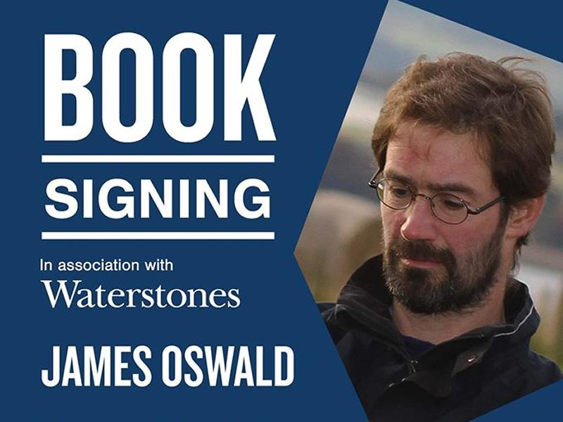 Book Signing with James Oswald