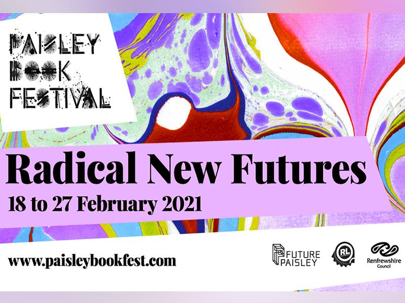 2021 Paisley Book Festival programme is now online