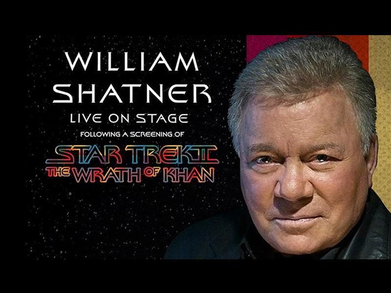 William Shatner and Star Trek II: The Wrath of Khan - CANCELLED