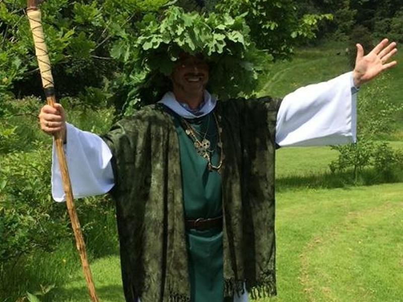 Druids of Caledon's Public Festival of the Spring Equinox - Alban Eilir