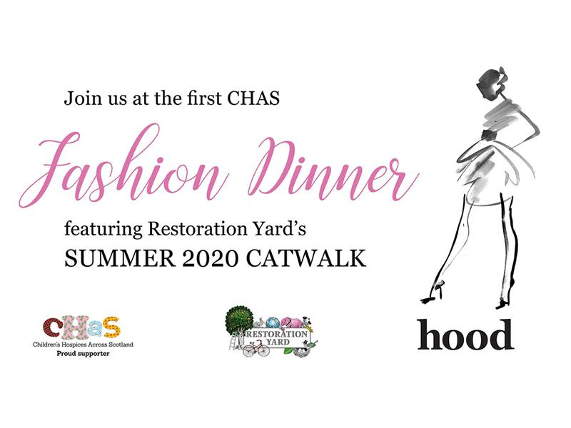The CHAS Fashion Dinner with Hood magazine - CANCELLED
