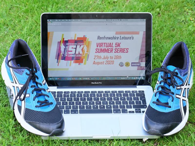 Keep on running with the Renfrewshire Leisure Virtual 5k Summer Series