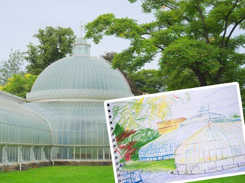 Drawing Group - Botanic Gardens and Kibble Palace