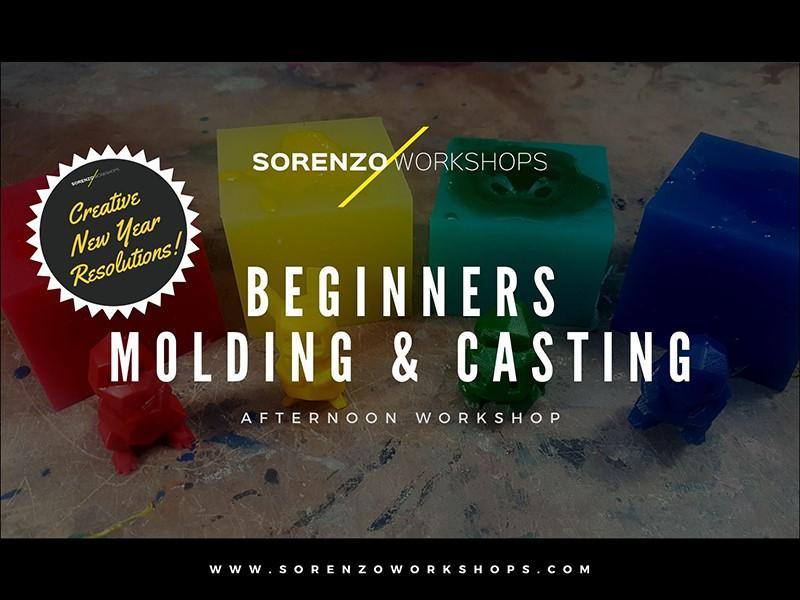Beginners Molding & Casting - Creative New Year Resolutions