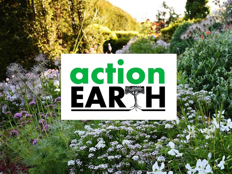 Castlebank and The Haven volunteers go green for Action Earth grant