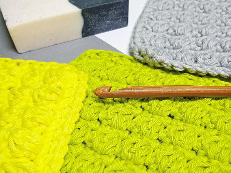 Crochet Club! Make your own Cotton Face Scrubbies