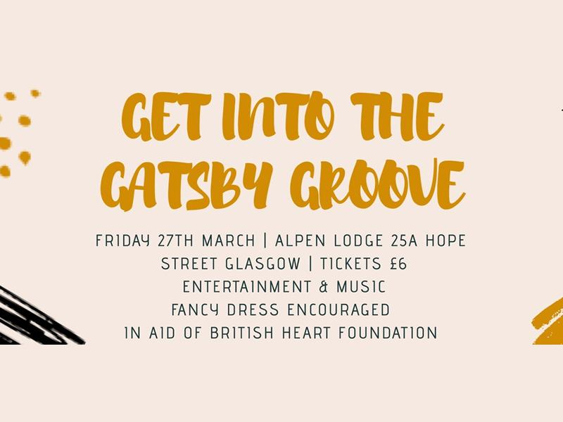 Get Into the Gatsby Groove - CANCELLED