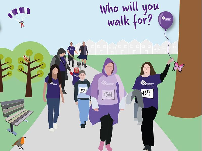 Alzheimer Scotland - Inverclyde Memory Walk