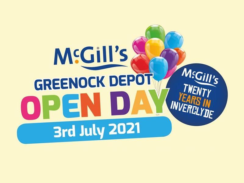 McGill's Greenock Depot Open Day