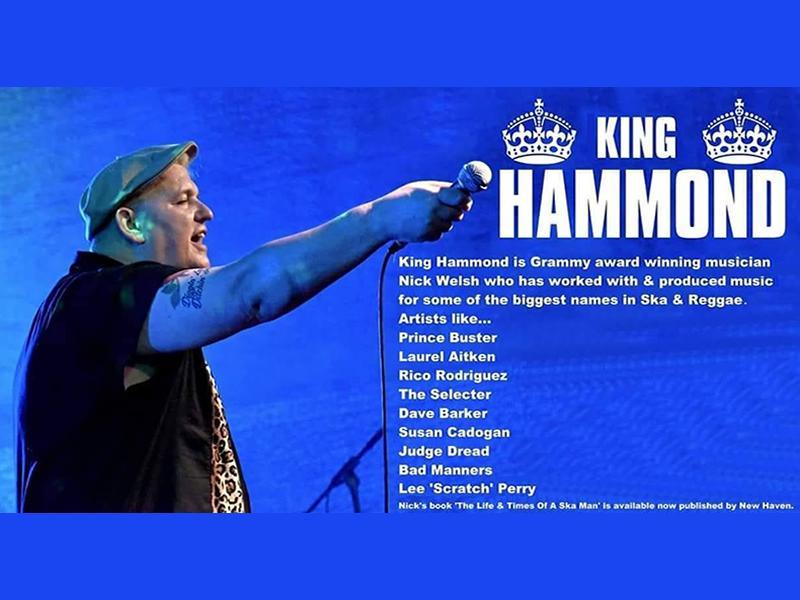King Hammond & The Rude Boy Mafia - POSTPONED