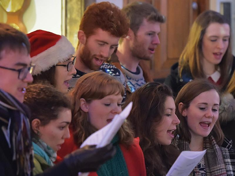 Christmas Choirs in the Courtyard