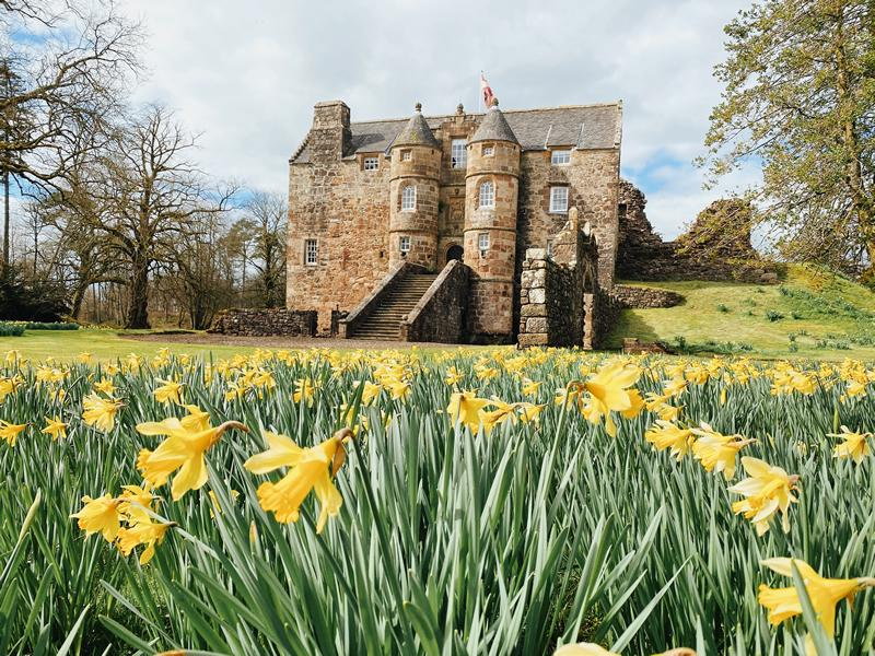 Enjoy a holiday steeped in history at Rowallan Castle