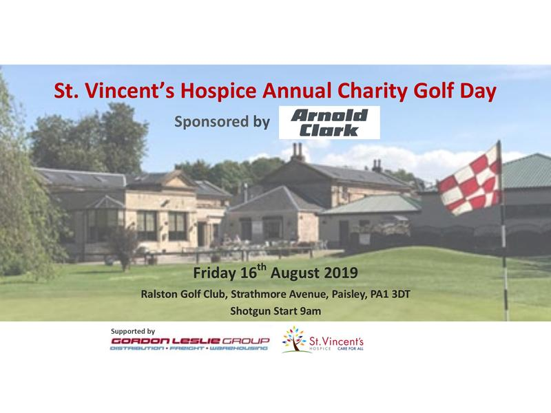 St Vincent's Hospice Golf Day