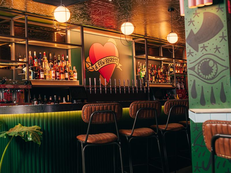 First Look at Abandon Ship Bar in Glasgow