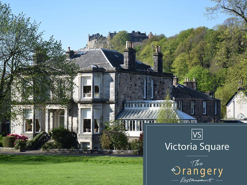 Victoria Square And The Orangery Restaurant