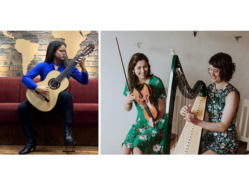 A Night of Music for Guitar, Fiddle and Harp