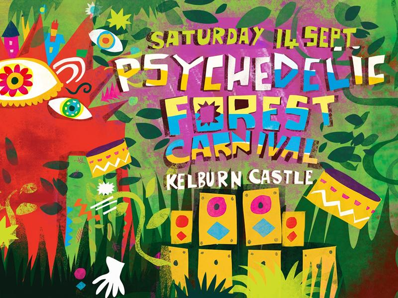 The Psychedelic Forest Carnival