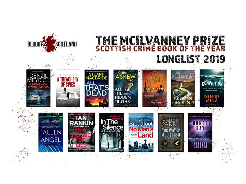 The Longlist for the McIlvanney and the Shortlist for the Debut Prize revealed today