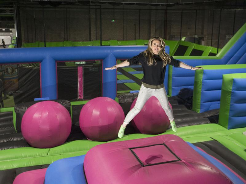 Friends go free at Flip Out After Dark